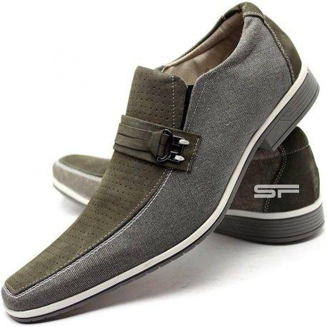 Sapato Social Masculino Super Luxo Oliva