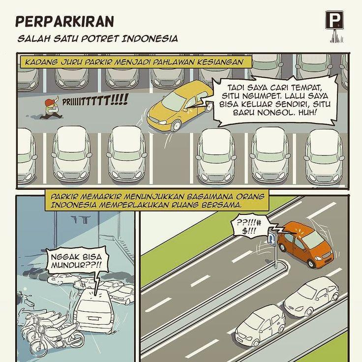 Seberapa sering parkir jadi masalah? Seberapa sadar pakai ruang publik sama-sama? | Selengkapnya di http://ift.tt/2mMTuA0 #komik #komikakhirpekan #komikberita #komikindonesia #beritagarid #parkir #parking