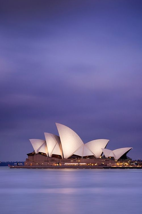 The Opera house, Sydney