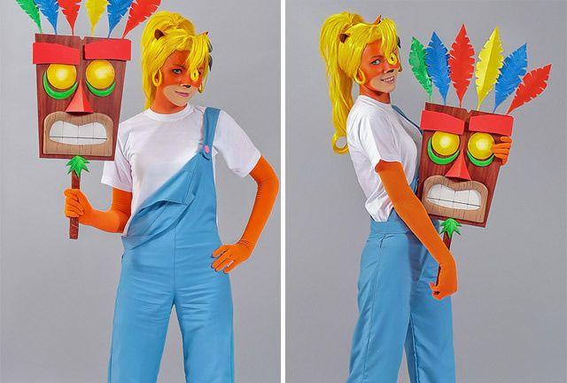 To Wear: Coco Bandicoot from Crash Bandicoot. Halloween inspiration!
