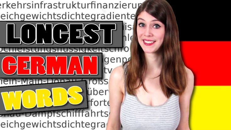 The 20 LONGEST GERMAN WORDS and What They Mean