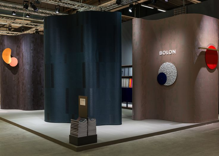 Doshi Levien's stand for Bolon By You at the Stockholm Furniture Fair 2016. Stockholm Furniture & Light Fair 2016. #stockholmfurniturefair #sff2016 #sthlmfurnfair