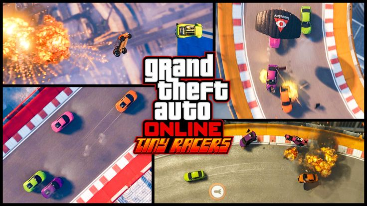 GTA Online Tiny Racers Coming April 25 - Watch the Trailer (micro machines game mode)