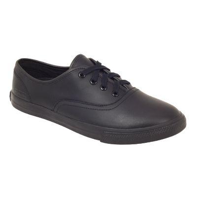 DEMI Snr - Black - School Shoes - ROC School Shoes Australia