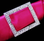 Crystal Rectangular Buckle Bouquet Accent 2160 http://oneclassicwedding.com/Wedding-Accessories/Bouquet-Jewelry/Crystal-Rectangle-Buckle-Bouquet-Jewelry