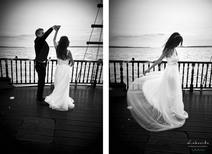 Lakeside Wedding Photography - Ildikó & Joci esküvője | Siófok, Talizmán hajó