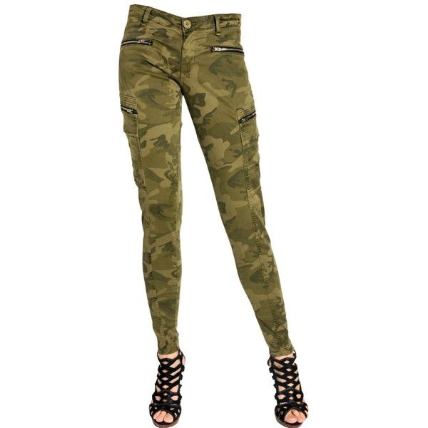 SUPERDRY Super Skinny Stretch Cargo Camo Trousers ($95) ❤ liked on Polyvore featuring pants, bottoms, camouflage, camoflage cargo pants, camo cargo pants, camoflauge pants, skinny camo pants and camouflage cargo pants