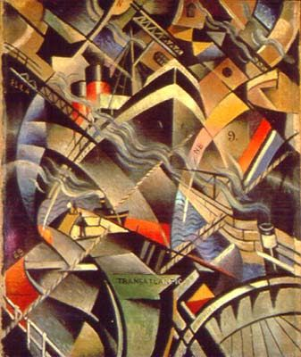 "Circumambient Peripherisation - "" forcing meaning to the edge of awareness "": Vorticism 
