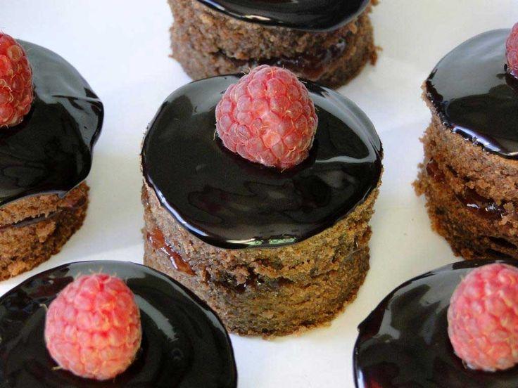 mini tarta sacher sin azúcar