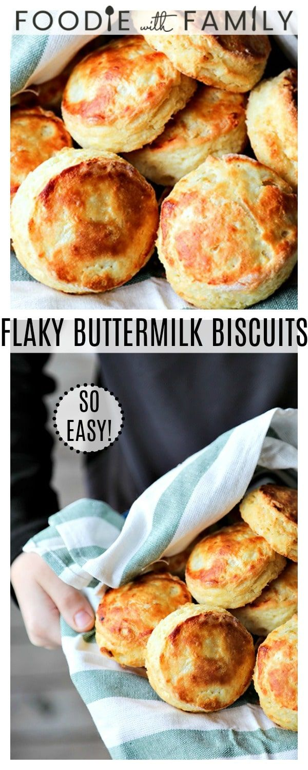 How To Make Perfect Flaky Layered Buttermilk Biscuits A Step By Step Tutorial For The Best Bisc Buttermilk Biscuits Fun Easy Recipes Breakfast Recipes Easy