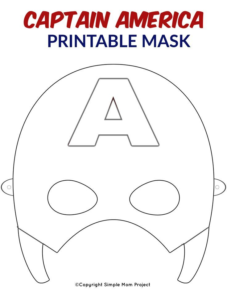 picture relating to Printable Masks for Kids titled Totally free Printable Superhero Experience Masks for Children Superhero