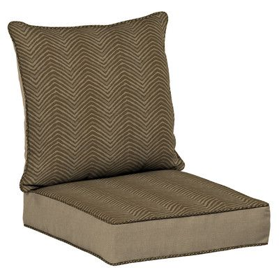 BombayOutdoors Zebra Snap Dry Outdoor Lounge Chair Cushion
