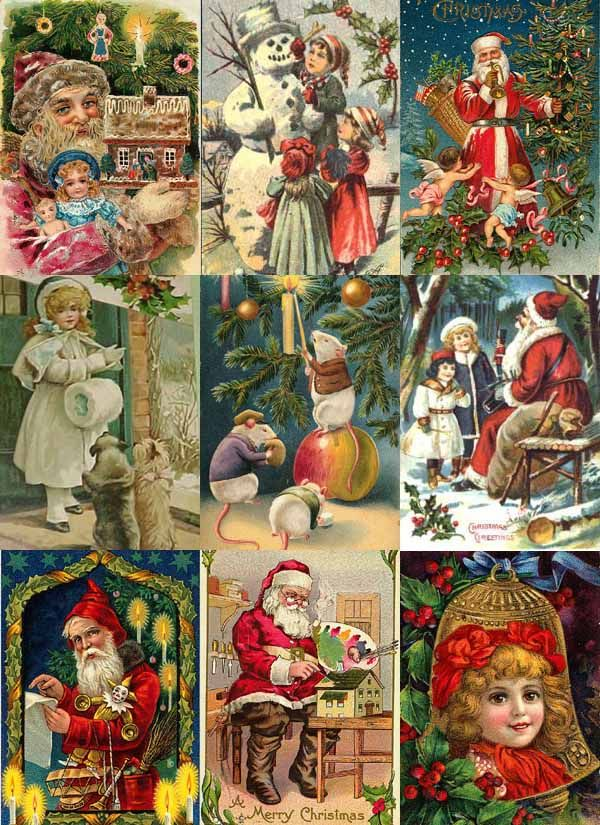 vintage christmas pictures | Christmas Crazy: Christmas History