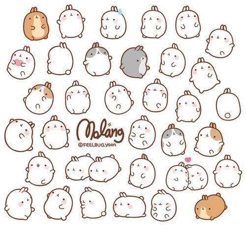 Molang Is so cute I can't handle it!!!