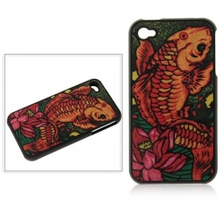 This site has crazy cheap iphone 4s accessories!!! I paid less than $5 for this....Cartoon Pattern Rubber Plastic Hard Back Skin Case Cover with Invisible Screen Protector for iPhone 4 4S (Fish)