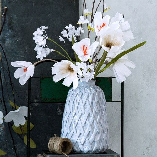 Paper Flowers from West Elm
