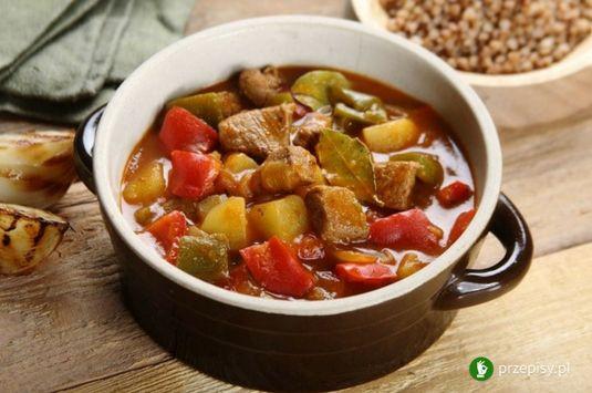 Gulasz węgierski #cooking #recipe #meat