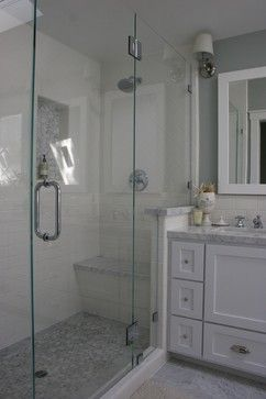 Traditional Bathroom Subway Tile Design, Pictures, Remodel, Decor and Ideas - page 7