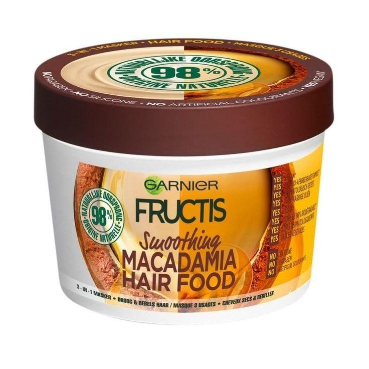 Garnier Fructis Smoothing Macadamia Hair Food mask
