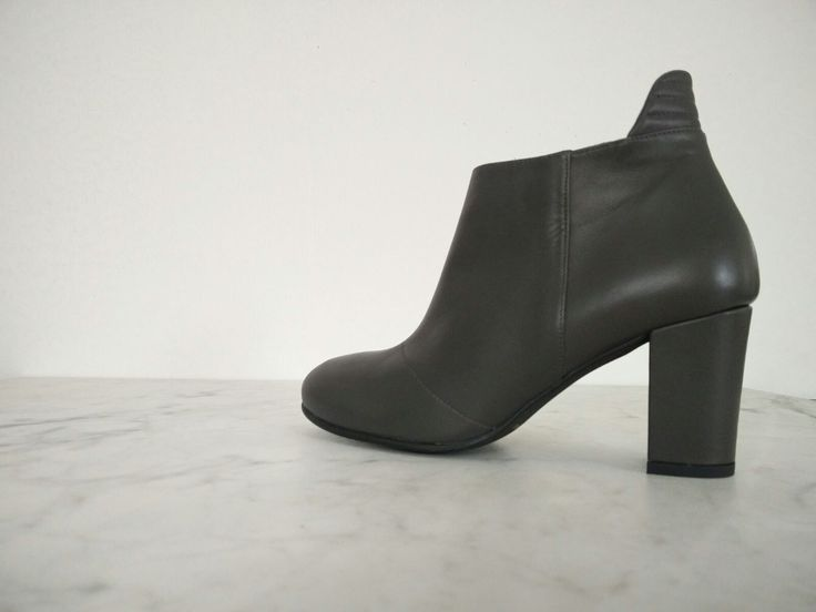 Nordic ShoePeople AW 2016... soft leather in grey....