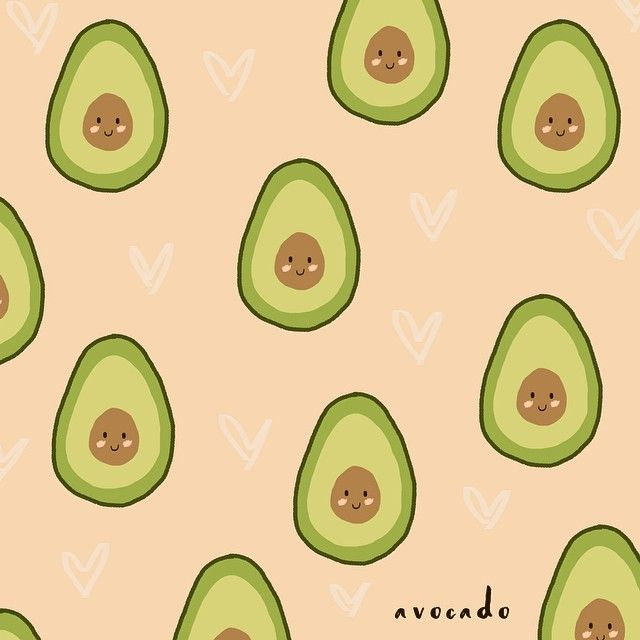 Viva los aguacates!! avocado truelove pattern