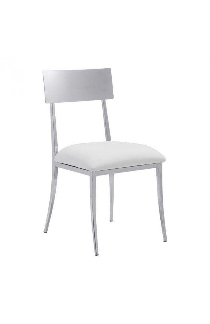 Weisse Esszimmer Stuhle 4 Er Set Esszimmerstuhle Mit Bildern Esszimmer Weiss Polsterstuhl Moderne Stuhle