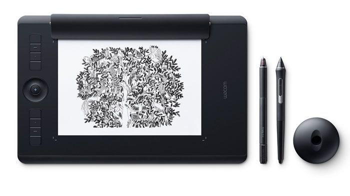 digital drawing tablet -intuos+Pro+Paper