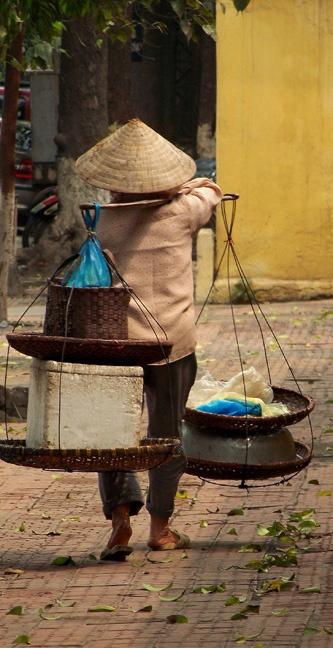 Mobile kitchen . Hanoi Vietnam