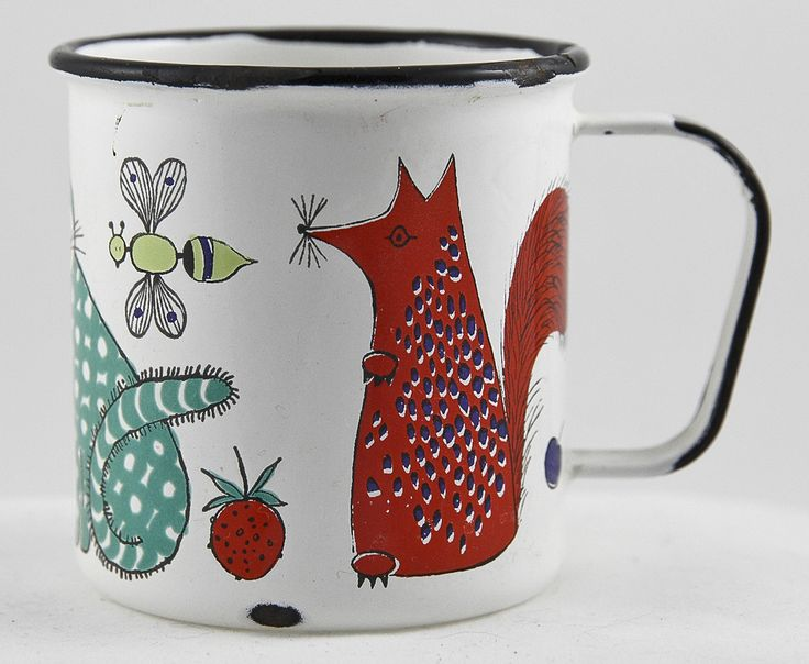 Finel of Finland enamel mug