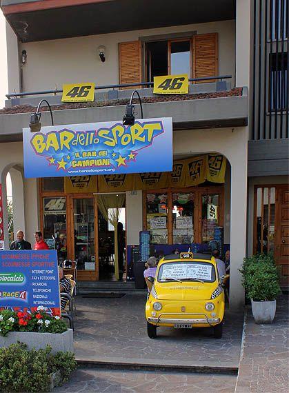 Valentino Cafe, Tavullia, Italy