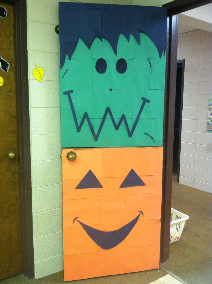 Halloween Classroom Decorations Make : Best holidays in the residence halls images on