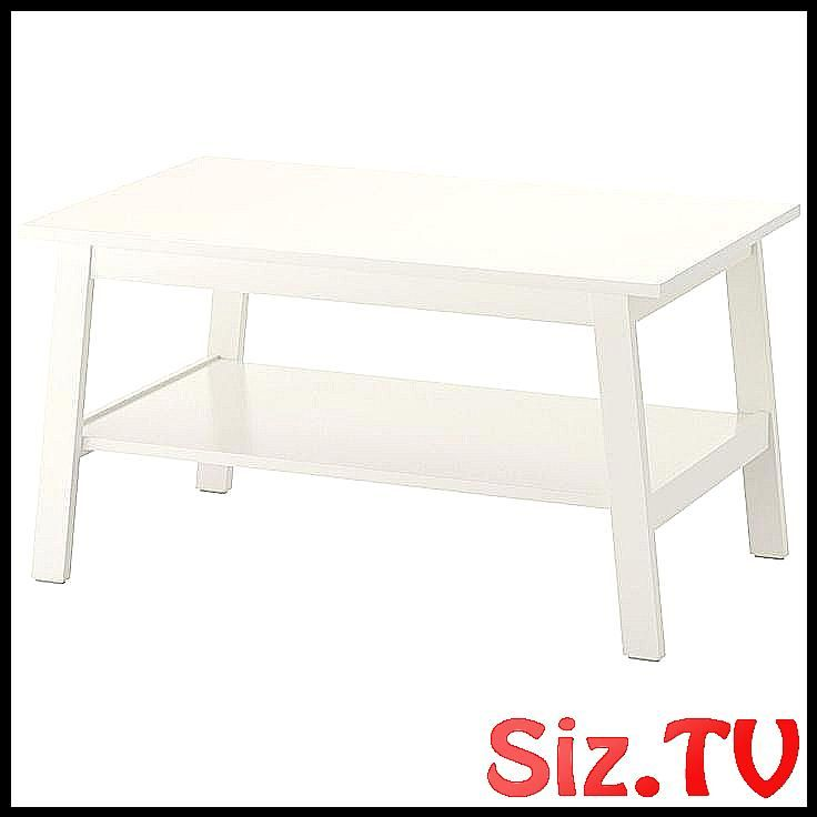 table basse lunnarp blanche ikea