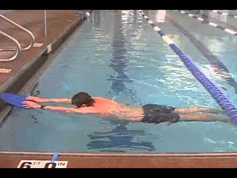 Breaststroke for Beginners Video - Reviews the kick, arms, and timing.