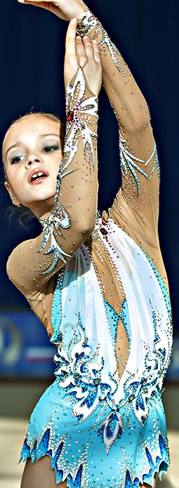 Rhythmic gymnastics leotard (photo by Kondakov)