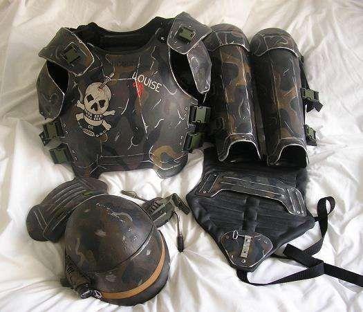 Nice apocalyptic armour. dieselpunk alienslegacy.com