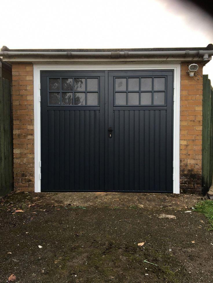 This Amazing Photo Is Genuinely An Impressive Style Concept Bluegaragedoor In 2020 Wooden Garage Doors Side Hinged Garage Doors Garage Exterior