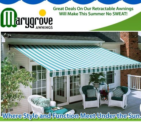 Marygrove Awnings Sells The Best Quality Latest Technology Free Remote And Motor Included