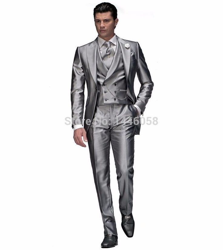 High Quality 2016 Light Grey Groom Tuxedos Groomsman Best Man Wedding Suit Morning Style Formal Suits (Jacket+Pants+Vest+Tie) - http://fashionfromchina.net/?product=high-quality-2016-light-grey-groom-tuxedos-groomsman-best-man-wedding-suit-morning-style-formal-suits-jacket-pants-vest-tie