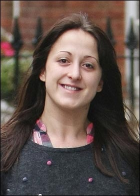 Sonia from Eastenders. Aka Natalie Cassidy. Thanks mum. Scarred my childhood years!