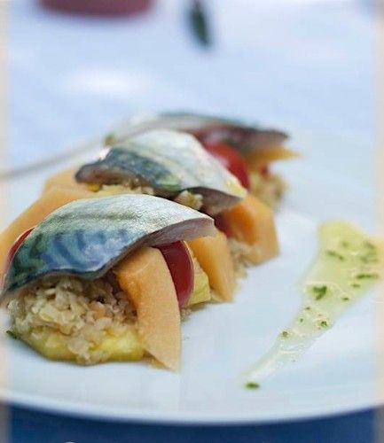 CuiZinaLau - Maquereau cru mariné et sa salade sucrée-salée | CuiZinaLau
