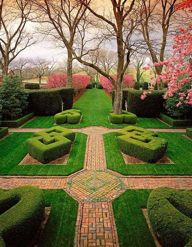 Superior Knot Garden Gardens At Glen Burnie Winchester, ...