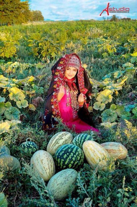 Oguz-Türkmen gelin kıyafetleri  Oguzhan Nesli Türkmenistan Türkmenleri