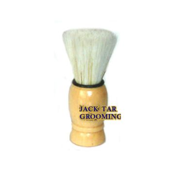 Stubby Beard Brush Natural Wood Handle Brush - With Unique Flat-Top Bristle  This Faux-Badger brush is set in a natural wood handle It features a unique, hand finished, flat-top bristle, especially designed for grooming and invigorating your beard.