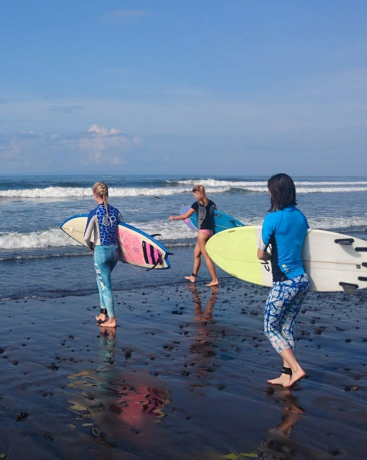 IN Surf - The best surf camp for girls in Bali (and Norway)! Read about my stay and how it has completely changed my attitude to surfing.