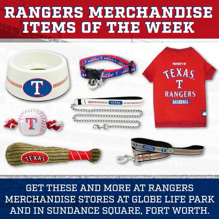 Man's best friend deserves the best Rangers gear to kick off today's Spring Training game.