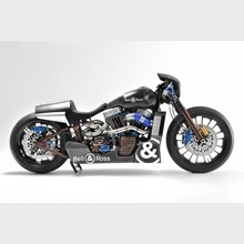 Nascafe Racer  The Bell & Ross watch company and Shaw Speed & Customs collaborative bike