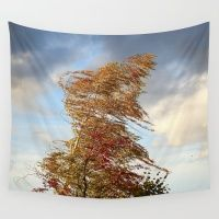 Windy Day Wall Tapestry