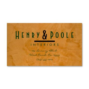 Featured on Houzz. This business card is part of a set of business branding products for Interior Design companies. Worldwide shipping. Easily customize online with your business name and details. Classy Rustic Interior Designer Business Cards Business Branding - mediterranean - Desk Accessories - Other Metro - Corbin Henry