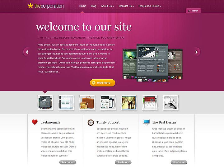 15 best Wordpress Themes images on Pinterest | Template, Wordpress ...