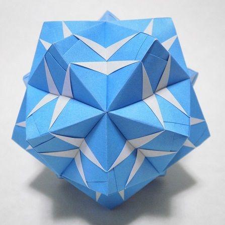 Origami Sonobe Kusudama